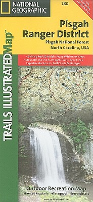National Geographic Trails Illustrated Map Pisgah Ranger District, Pisgah National Forest
